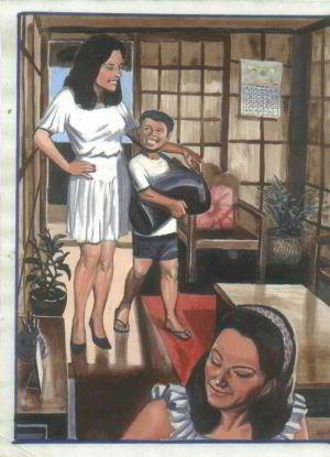 बेटा और माँ
