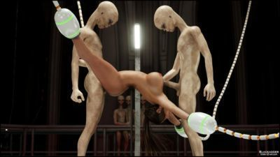 Erotic 3D Art (Blackadder)  Alien Nightmare - part 2