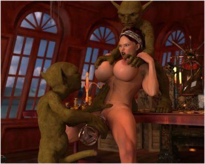 Captain Maia, The Goblin Treasure - part 4