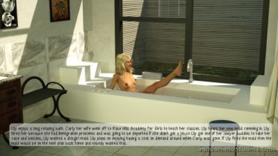 Bathtime  The Maids Blowjob- Senderland Studios