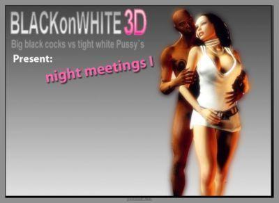 Night Meetings 1- Blacknwhite