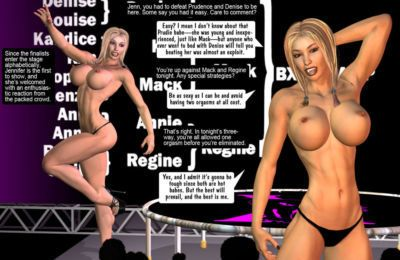 [Entropy] BXS 155 (Jennifer- Mackenzie- Regine) BXS Sexfight tournament Finale