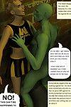 Beast Attack Girl for Impregnation