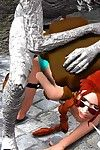 Lara Croft was raped by Mummy (3D)