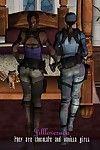 [Jilllovesada] They Are Chocolate and Vanilla Girls (Resident Evil)