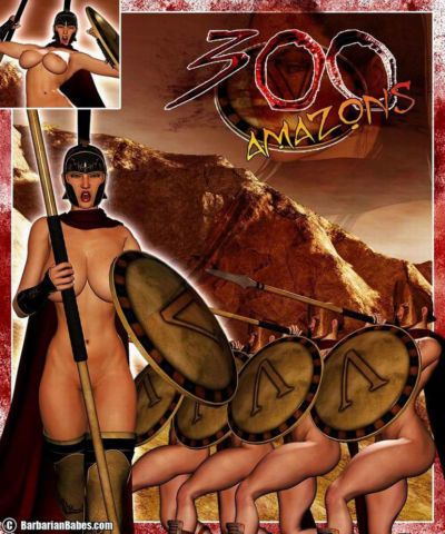 300 Amazons - Queen of Sparta