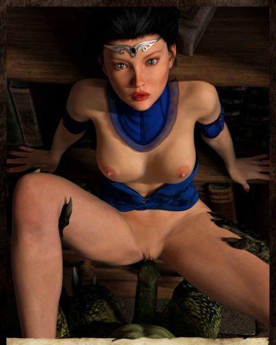 Hibbli3D – Sorceress Lori - Sold To Demons ( story + pics ) - part 2