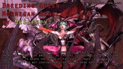 Breeding Queen Morrigan Aensland
