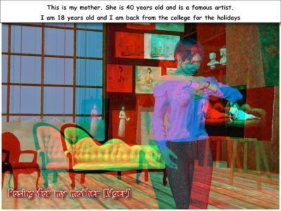 [Vger] Posing for my mother (3d anaglyph version]