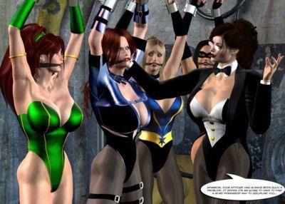 [Uroboros] Legion Of Superheroines Annual 2011 & 2012 - part 3