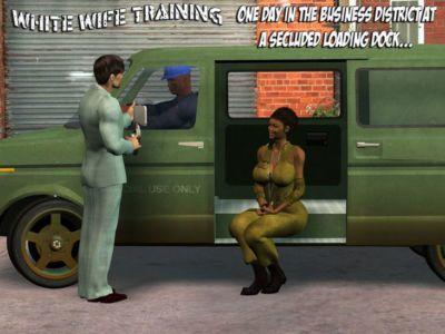 White Slut Training