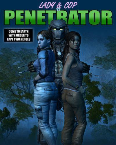 Lady & Cop VS Penetrator