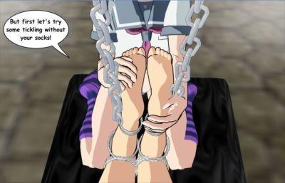 """3D Foot Fetish & Bondage \""""Idol in Bondage\"""" OREIMO - part 4"""