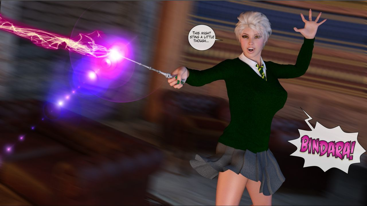 [Shinra-kun] Harriet Cooper And The Wizard\'s Sacrifice - Spell 3