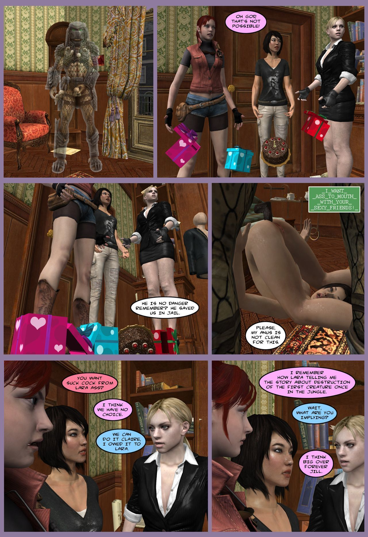 Lady & Cop VS Penetrator 5 (Chapter 1)