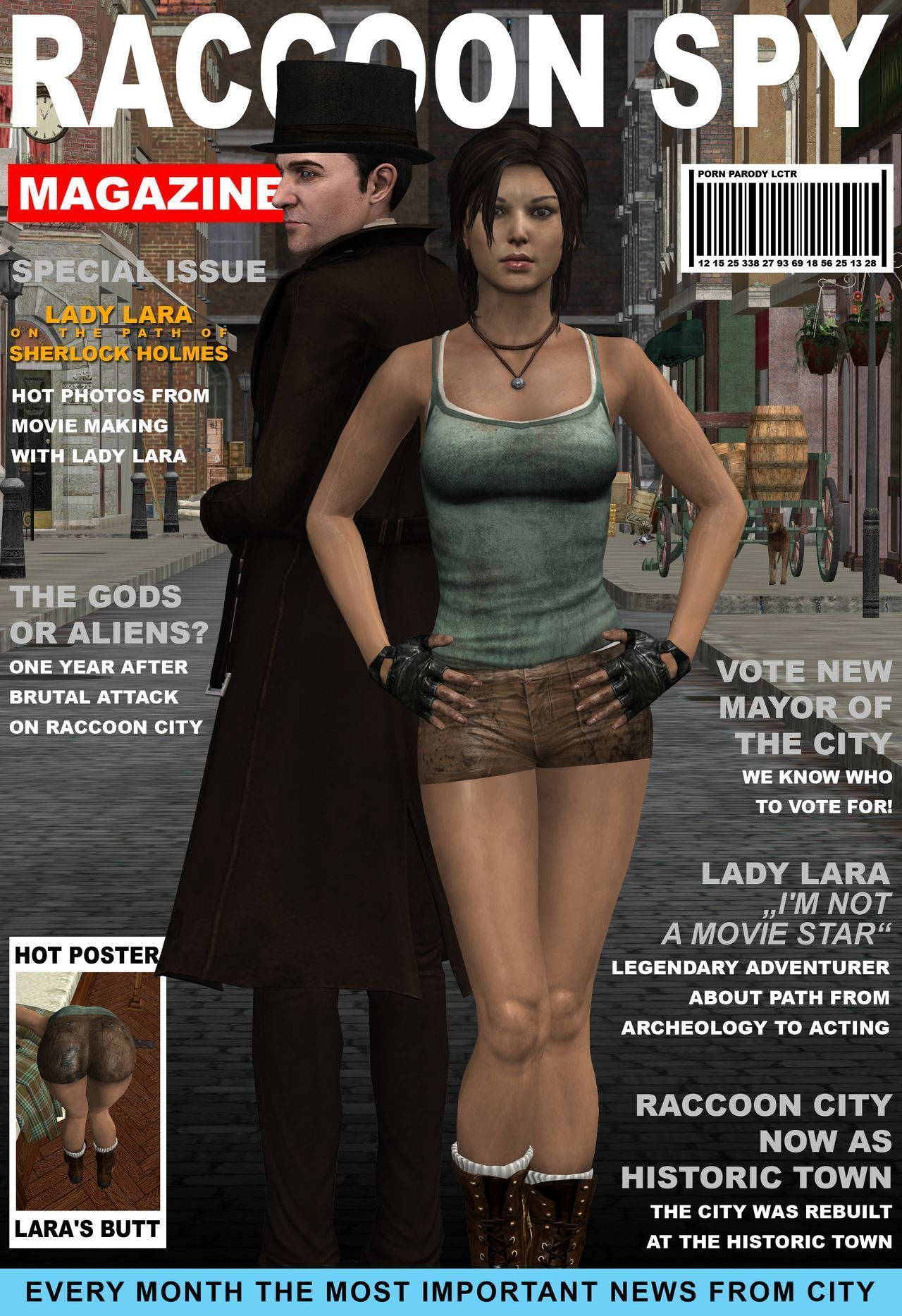 Lady & Cop VS Penetrator 5 (Chapter 1)