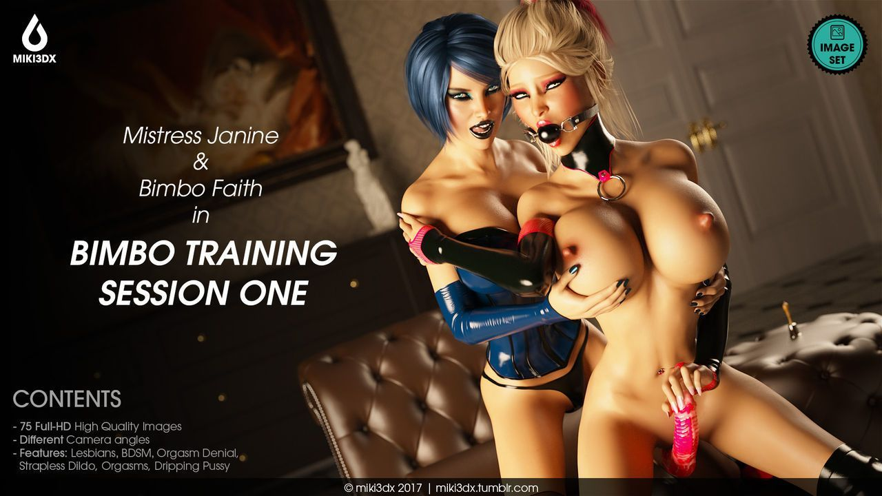 Miki3DX - Bimbo Training Session One - part 4