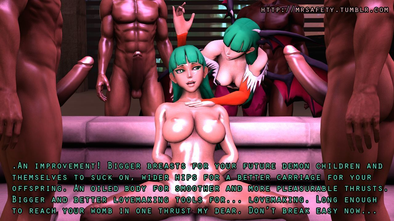 Destruction of Morrigan Aensland