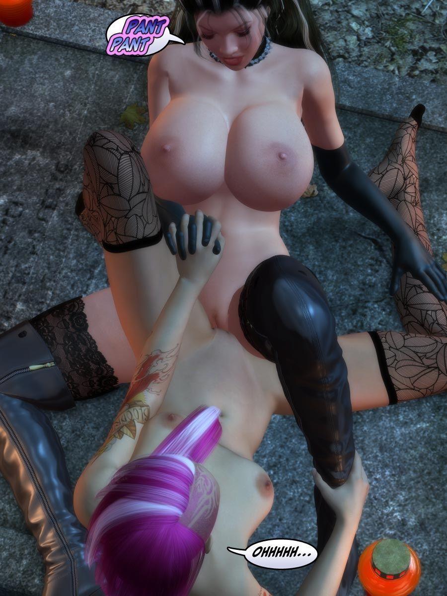 [Dr. Robo / Trishbot / Finister Foul] Halloween Havoc: Black Magic Woman - part 2