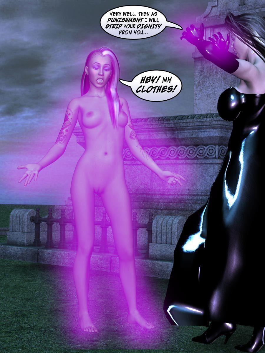 [Dr. Robo / Trishbot / Finister Foul] Halloween Havoc: Black Magic Woman - part 4