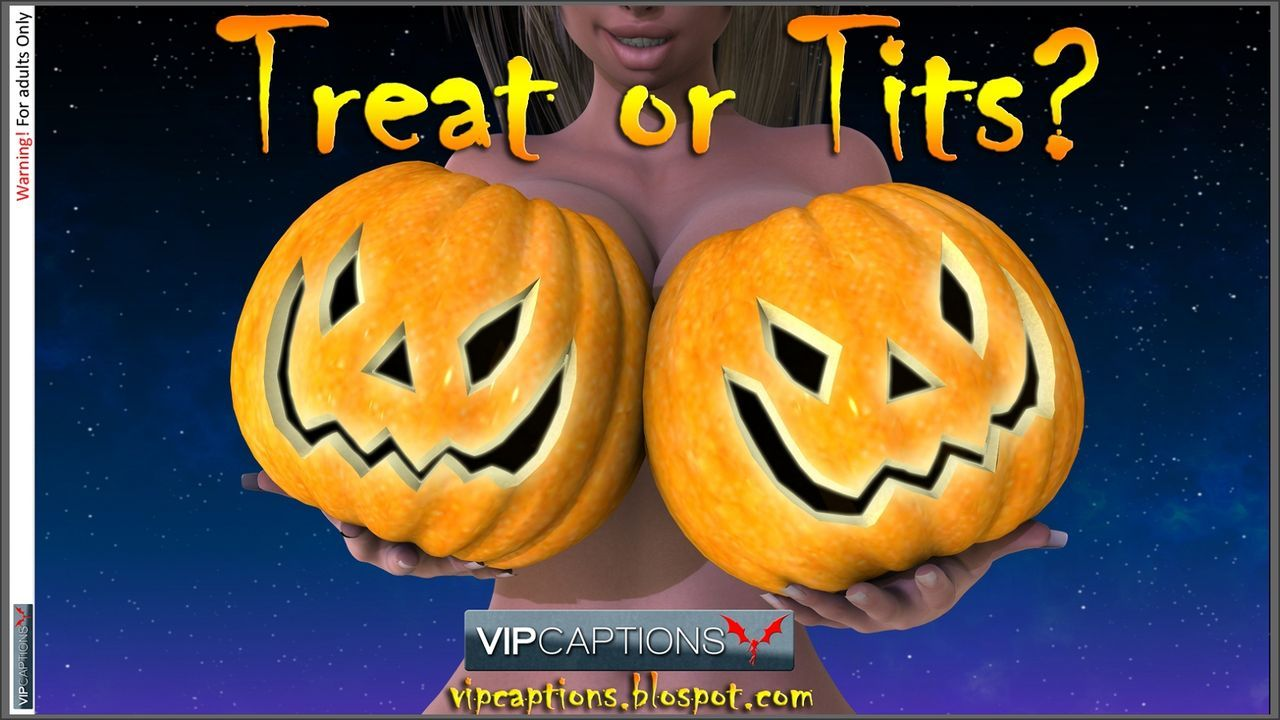 [VIPCaptions] Treat or Tits