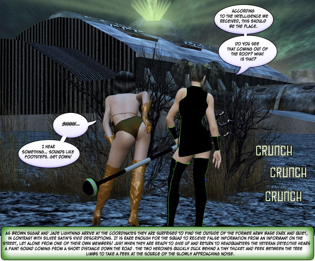 [Finister Foul] Superheroine Squad 1 - 23 - part 5