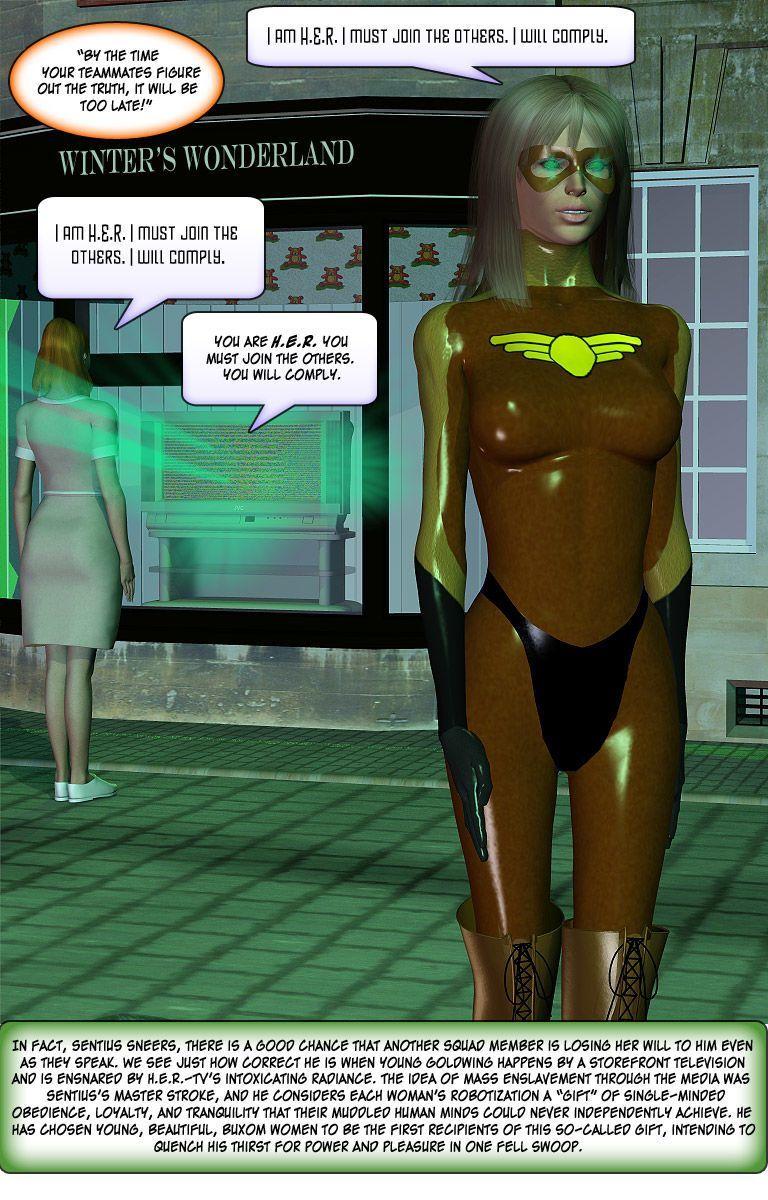 [Finister Foul] Superheroine Squad 1 - 23 - part 7