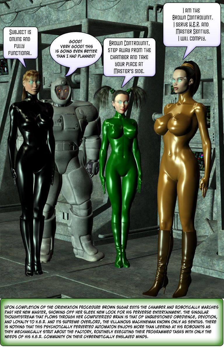 [Finister Foul] Superheroine Squad 1 - 23 - part 10