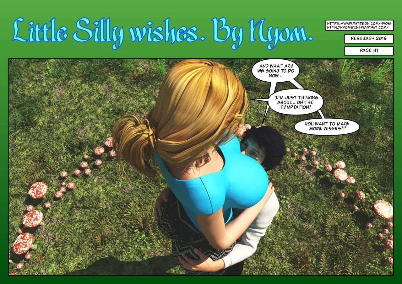 Nyom – Little Silly Wishes - part 3