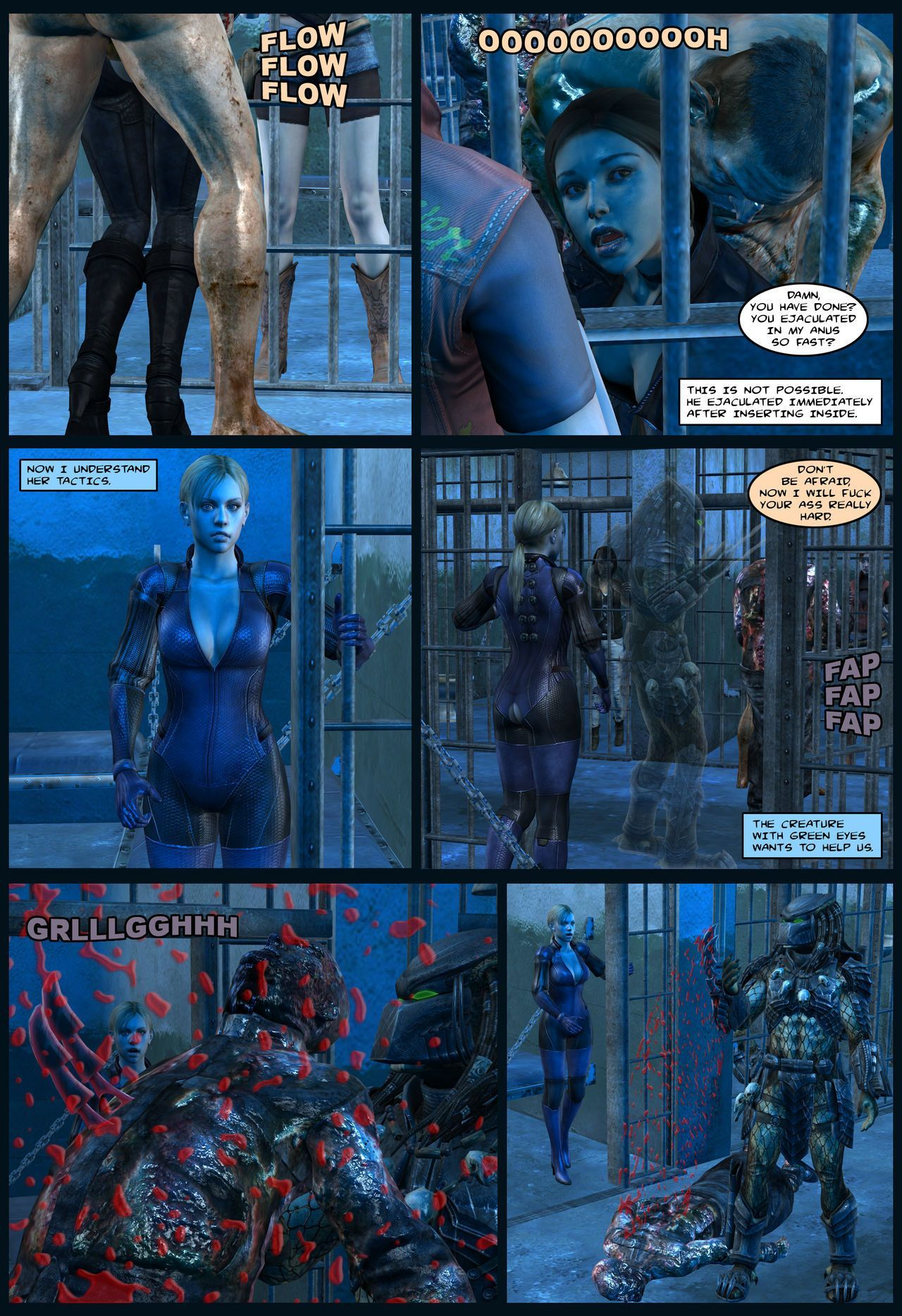 Lady & Cop VS Penetrator 4 (Chapter 1-2)