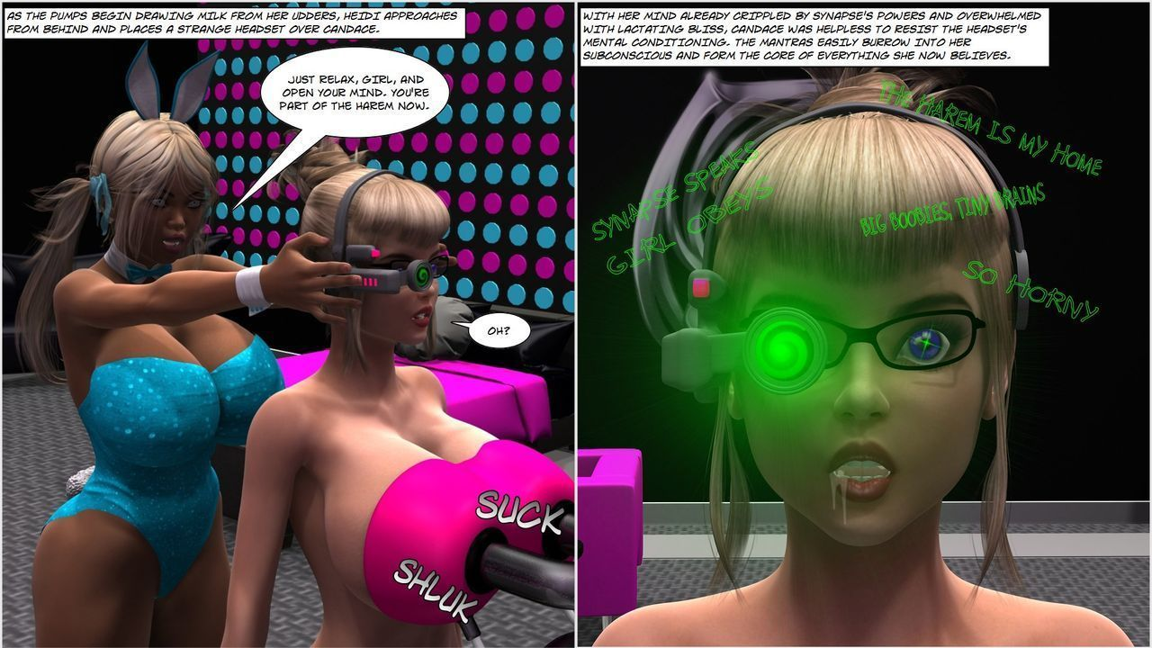 Metrobay Comix- Heartbreak Harem 1-3 - part 2