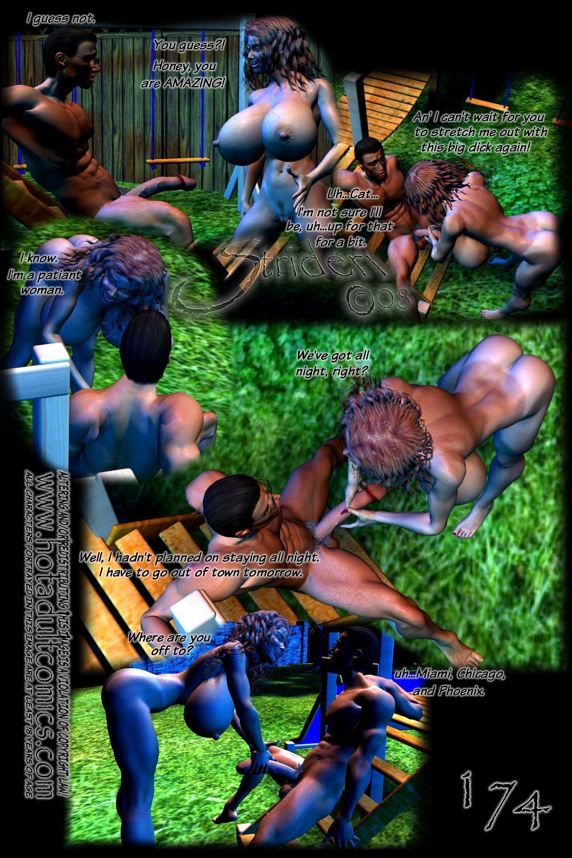 Feline Regrets (3D) - part 9