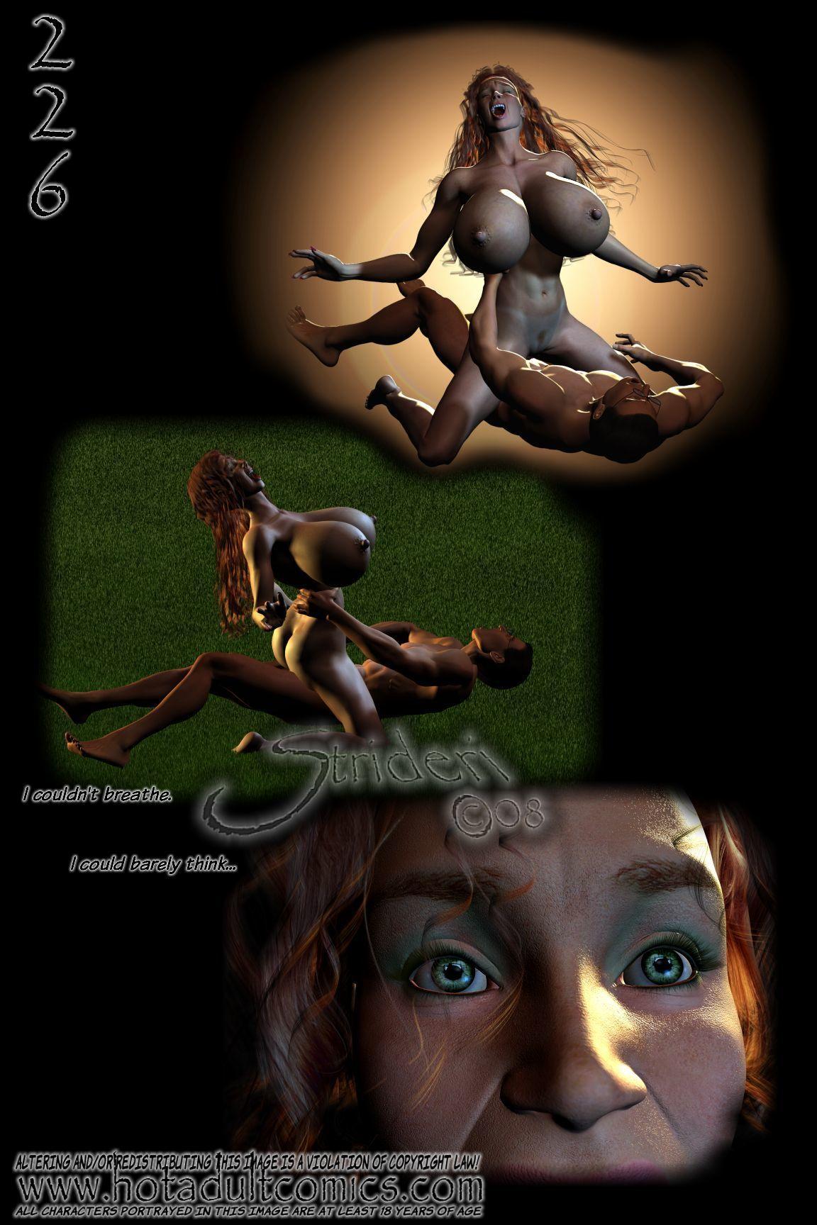 Feline Regrets (3D) - part 12
