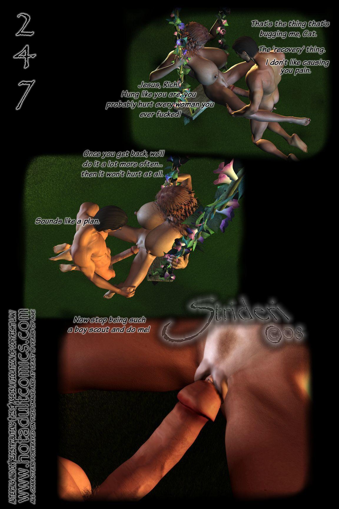 Feline Regrets (3D) - part 13