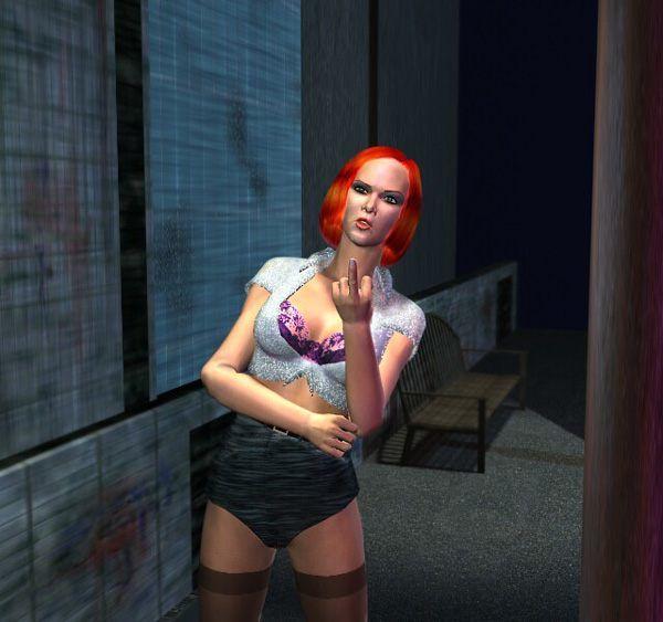 prostite in the street