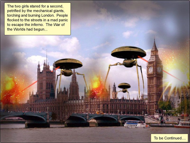 The war of the worlds chp 1-7 - part 2