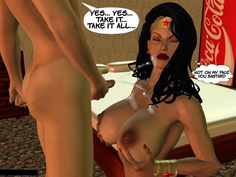 [Cirosikk] The Erotic Adventures of Wonder Woman - The Evil Boy! (Wonder Woman) - part 3