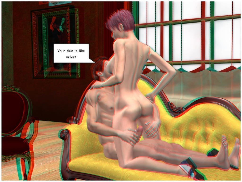 [Vger] Posing for my mother (3d anaglyph version] - part 3