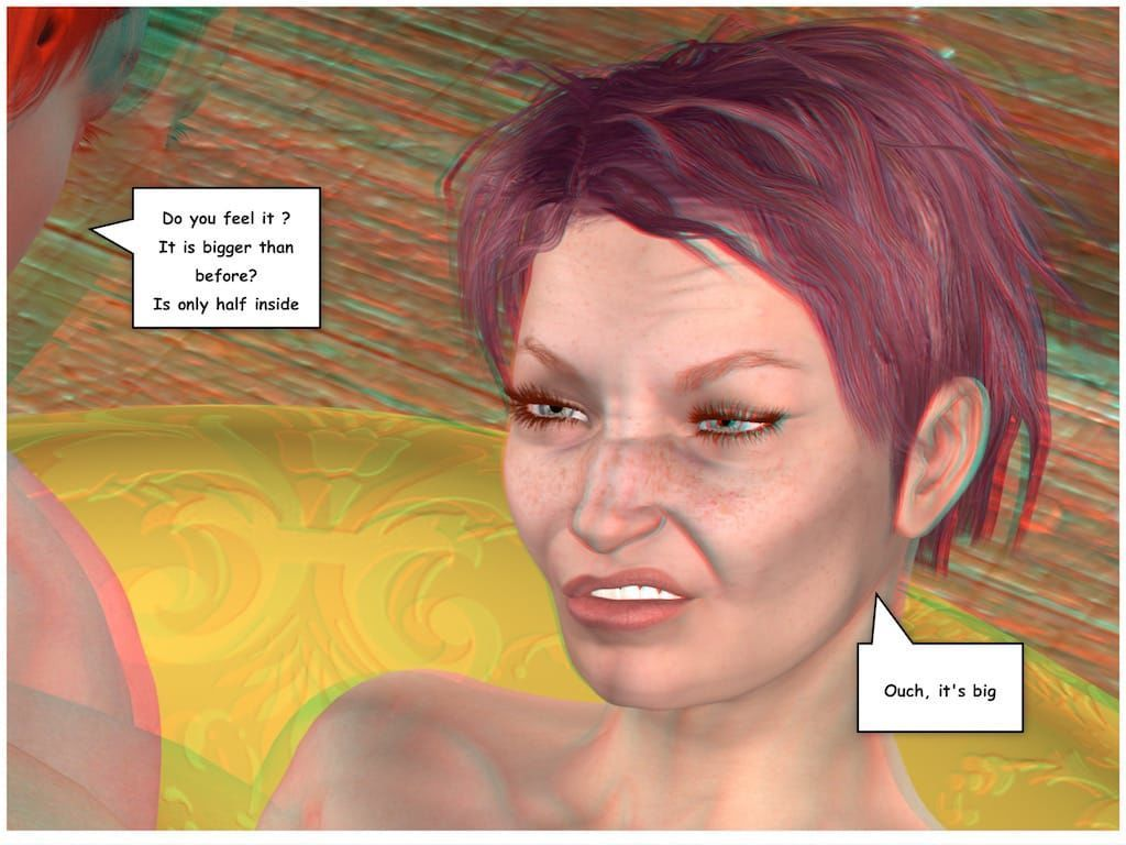 [Vger] Posing for my mother (3d anaglyph version] - part 4