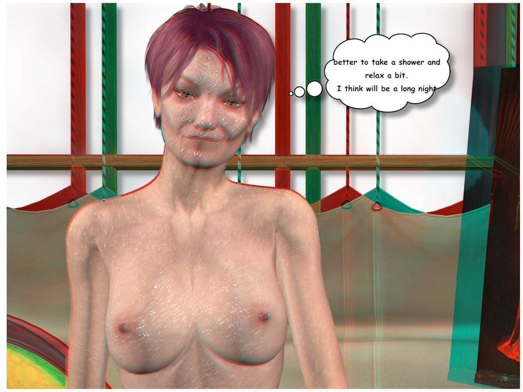 [Vger] Posing for my mother (3d anaglyph version] - part 6