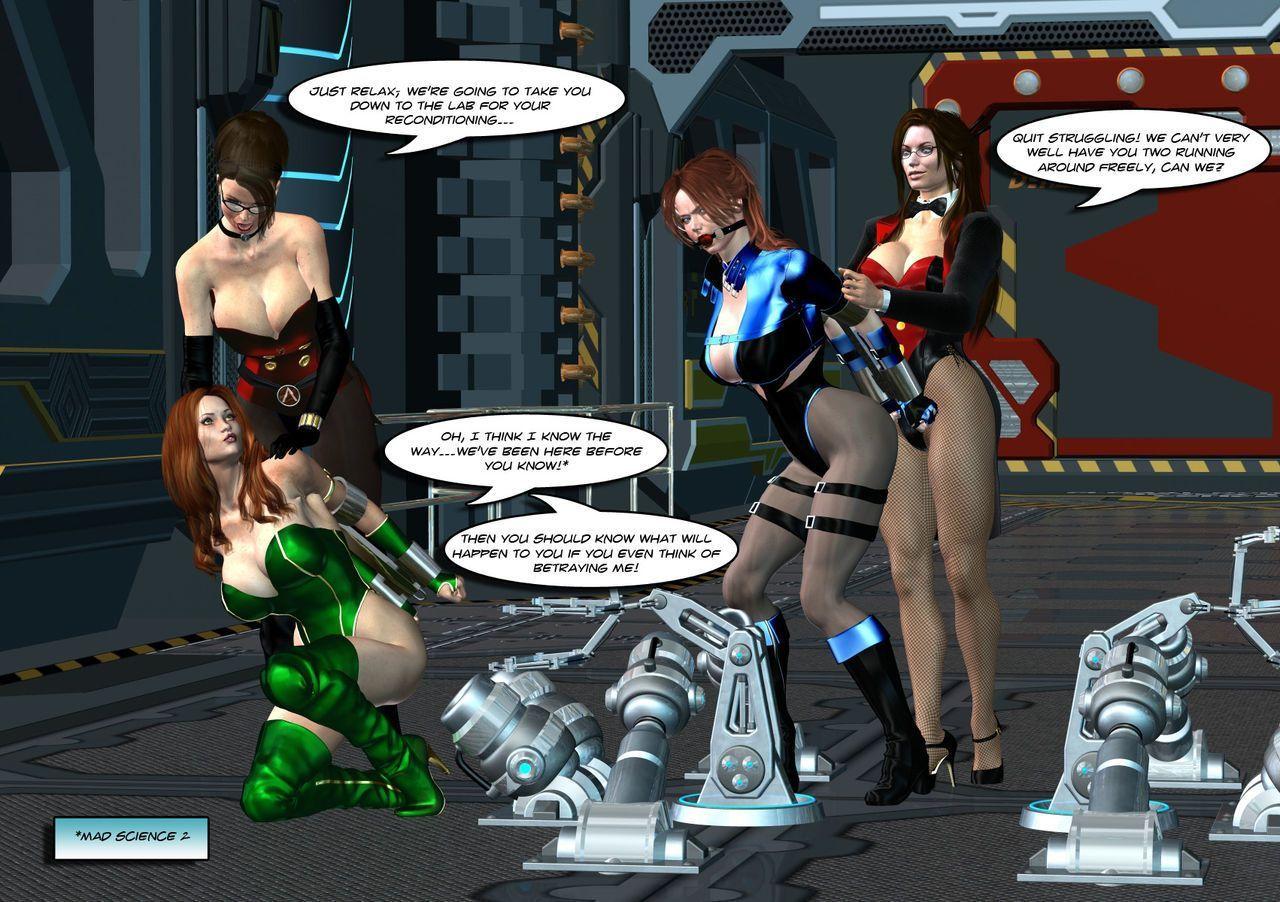 [Uroboros] Legion Of Superheroines 47 - 57 - part 2