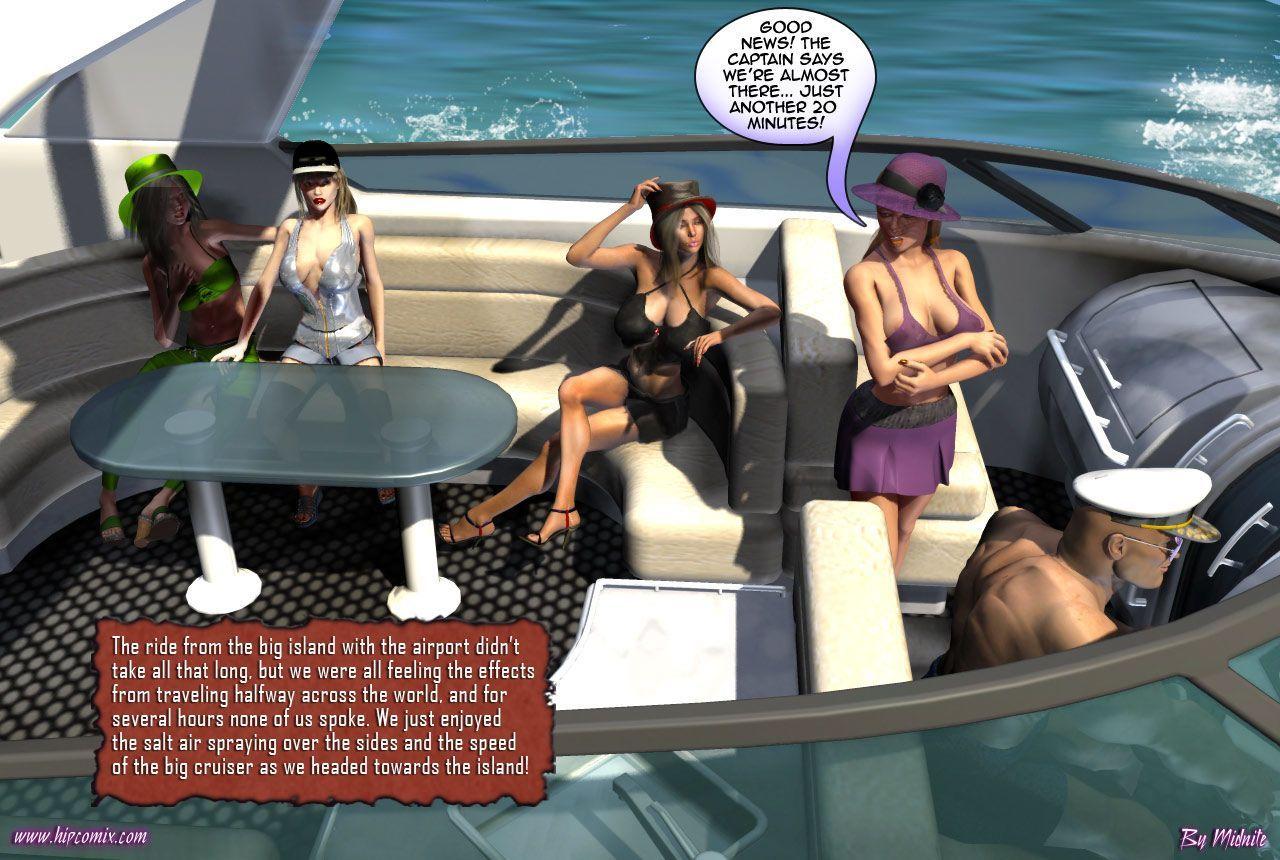 [Midnite] Betty Noir #11 - The Fantasy Island Fiasco [English] - part 2