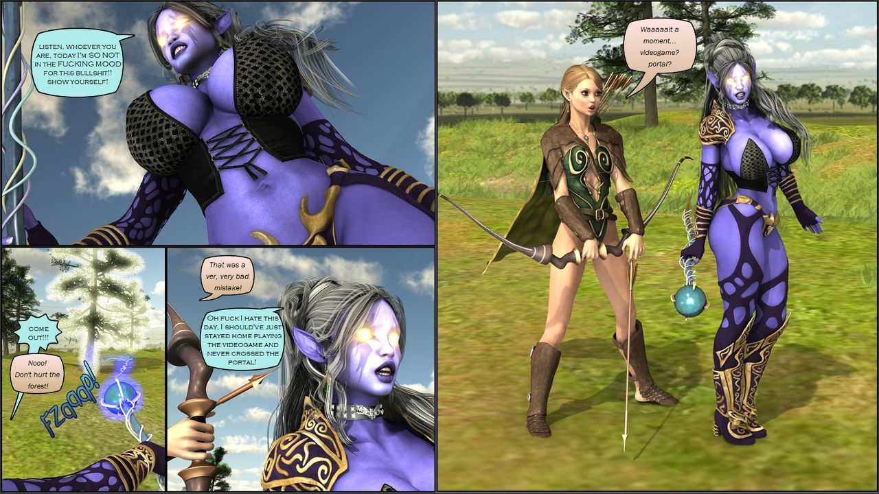 [VipCaptions] VipComics #5α Defenders of the Realm - part 2