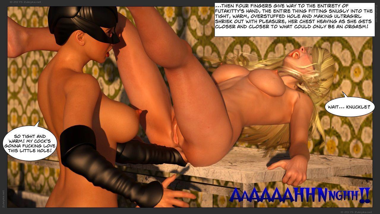 [3D] Zuleyka - Ultragirl Vs Futakitty - part 3