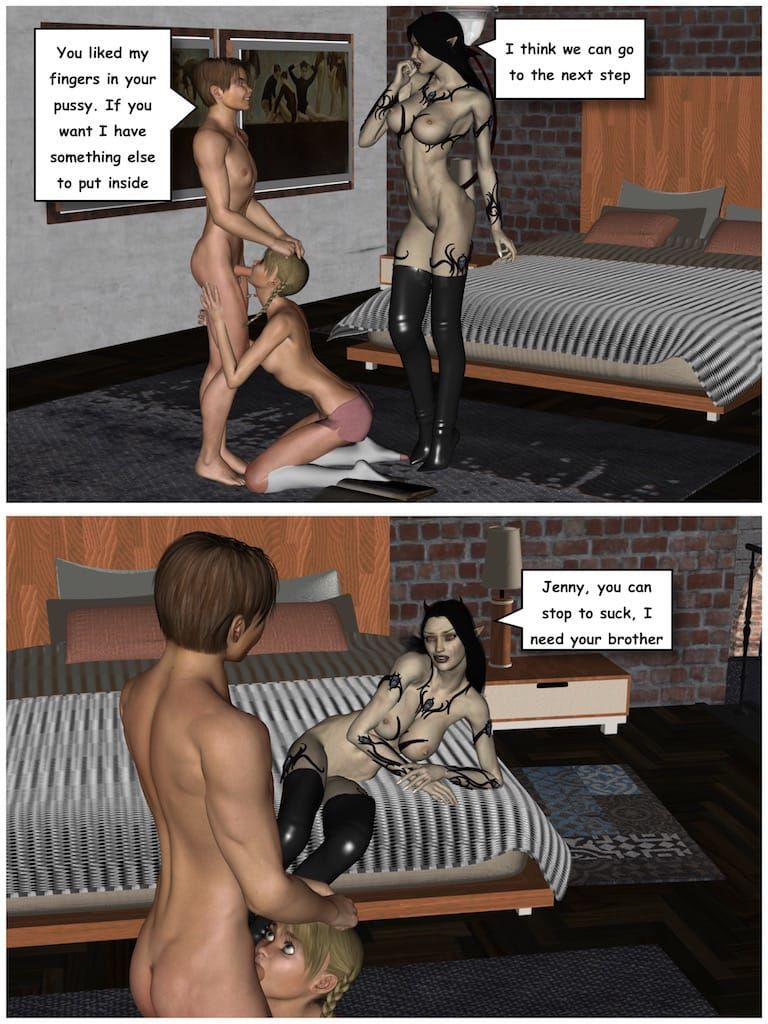 The twins and the succubus - part 2