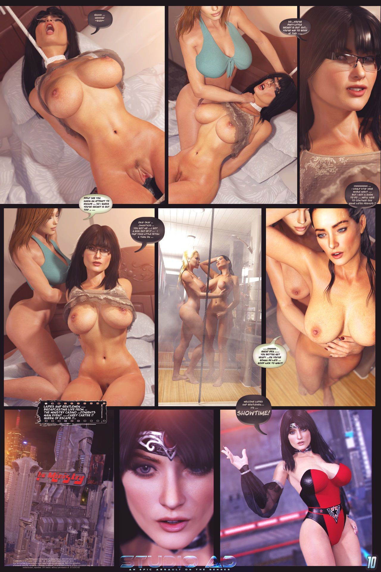 Carey and Kate - Kinky Adventures 2