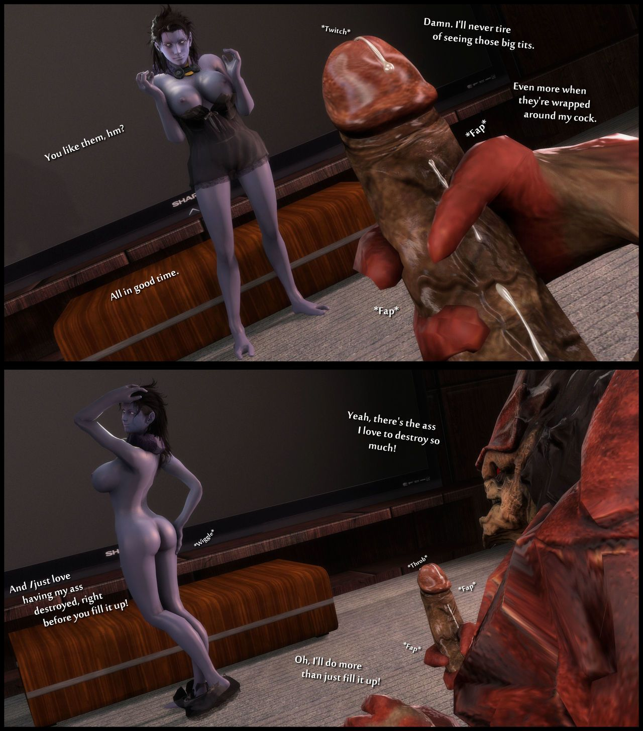[foab30] Size Queen (Mass Effect)