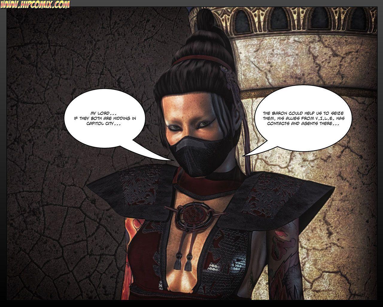 Black Strix - The Black Hand of Fate (1-9) - part 2