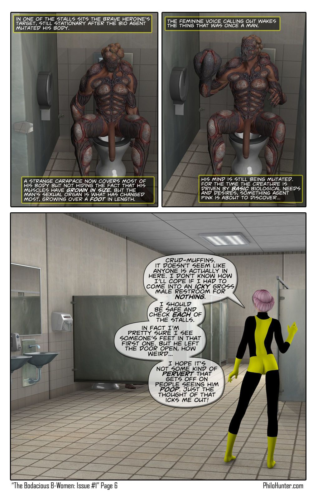 [Philo Hunter] The Bodacious B-Women Issue #1