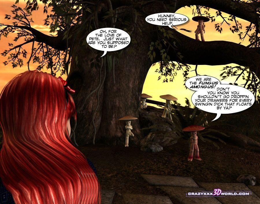 Crazyxxx3DWorld - Wonderland 1-3 - part 5